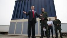 Bức tương biên giới đang xây không phải bức tường Tổng thống Trump mơ ước