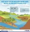 Việt Nam có tài nguyên nước mặt, nước ngầm phong phú