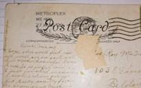 Hé lộ nội dung tấm bưu thiệp được gửi từ quá khứ cách đây đến gần... 100 năm