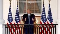Ông Trump trở lại làm việc ở Nhà Trắng sau 3 ngày điều trị Covid-19