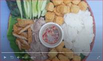 Không phải nem hay phở, bún đậu mắm tôm mới là món Việt xuất hiện trên CNN