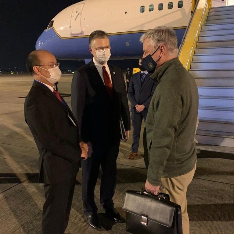Cố vấn An ninh Quốc gia Robert C. O'Brien đến Việt Nam