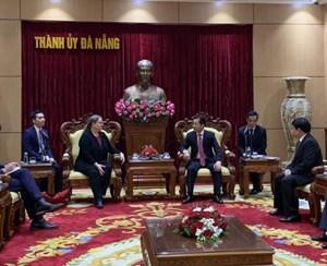 Tổng lãnh sự Mỹ Quan hệ Việt - Mỹ có được nhờ dũng cảm, thiện chí và chăm chỉ