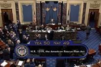 Thượng viện Mỹ họp thâu đêm để thông qua gói cứu trợ 1.900 tỷ USD