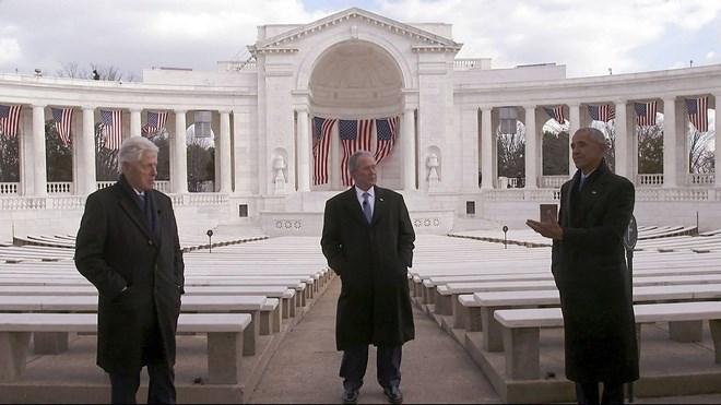 Bốn cựu tổng thống Mỹ cùng