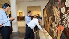 Khám phá tác phẩm mỹ thuật quý qua ứng dụng bảo tàng số