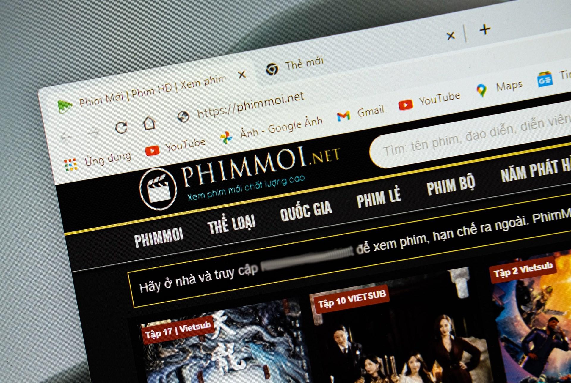 Người đứng đầu Phimmoi.net đặt máy chủ ở đâu trước khi bị khởi tố?