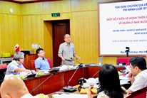 Hội thảo lấy ý kiến chuyên gia quy định về quản lý nhà nước trong luật hợp tác xã  