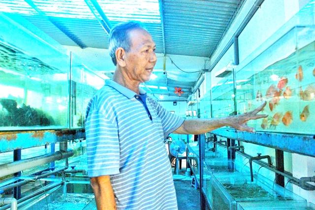 Creativity helps fish farmer gain success, help his peers
