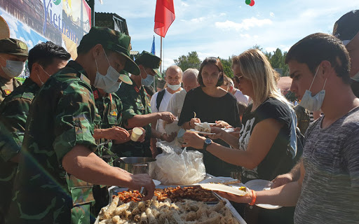 Vietnamese dishes add appealing flavour to Army Games 2020