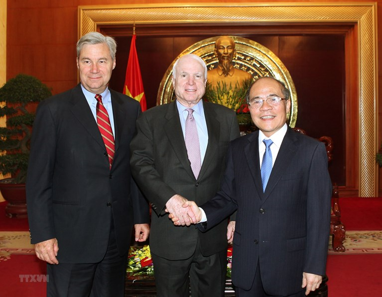 Looking back on 25 years of Vietnam-US relations & the role of U.S senators