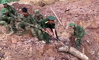 Vietnam and the US have been working to clear away unexploded ordnance left over from the war