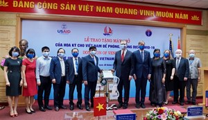 US provides ventilators to Viet Nam