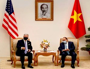 NSA O'Brien meets with Vietnamese government leaders in Hanoi