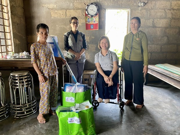 USAID supports flood-affected people with disabilities in Thua Thien-Hue