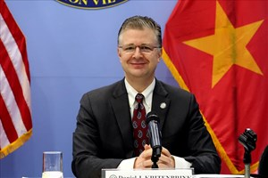 Ambassador Daniel Kritenbrink The Vietnam - US relation will be further developed because Vietnam is one of the best friends of the United States