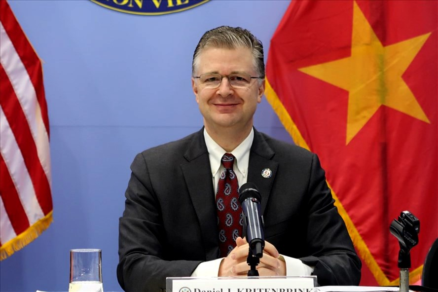"Ambassador Daniel Kritenbrink: The Vietnam - US relation will be further developed because Vietnam is ""one of the best friends of the United States"""