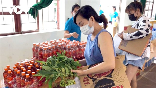 Zero-VND supermarkets ease hardship for workers in Bac Giang